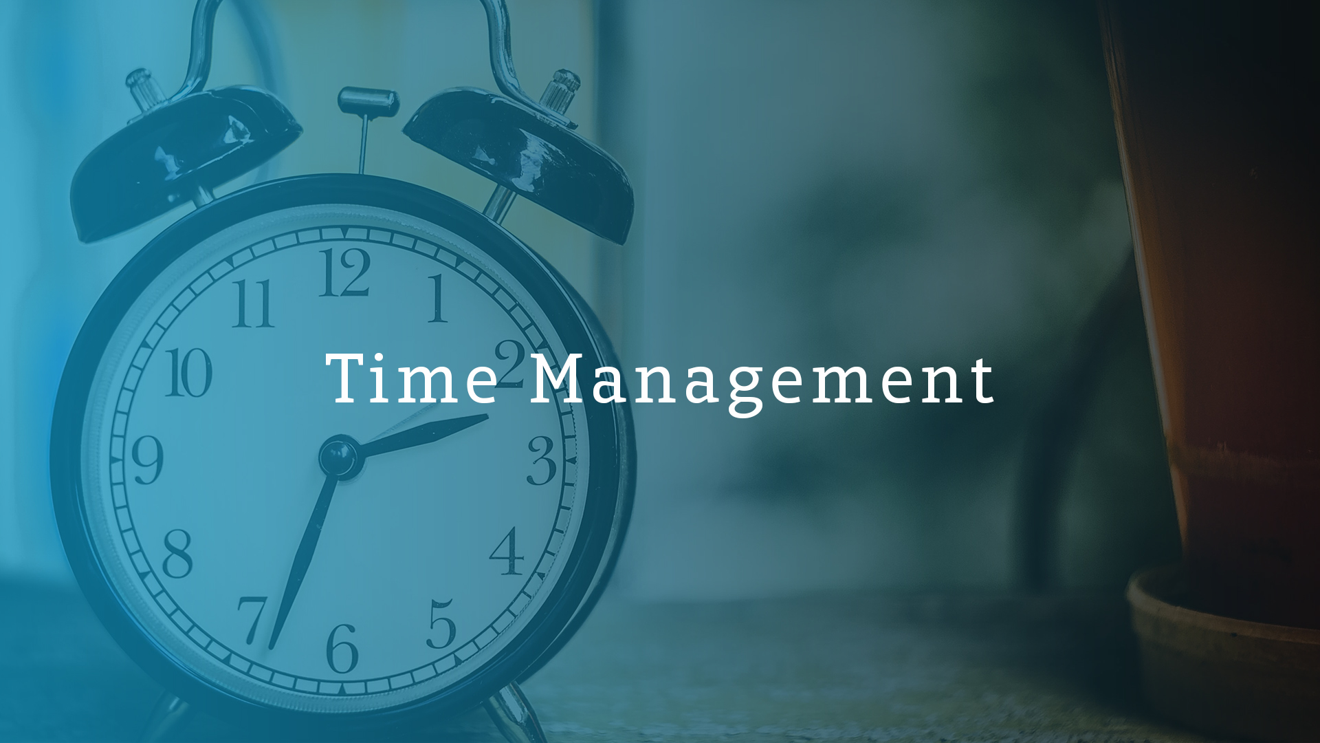 Time Management Logic Institute Hrd